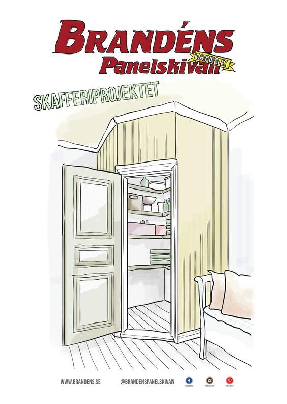 byggbeskrivning på ett platsbyggt skafferi | Kitchen | Pinterest ... : skafferi organizations : Inredning