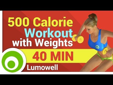 400 Calorie Workout for Weight Loss - No Equipment 35 Min - YouTube
