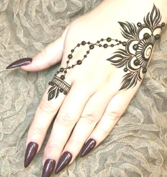 80 Gambar Henna Gampang Ditiru Terlihat Keren Gambar Pixabay
