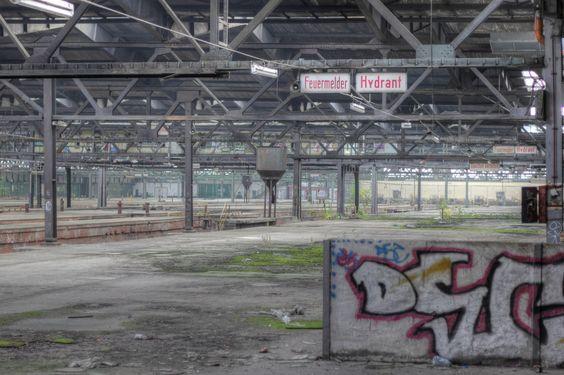 Alter Güterbahnhof, Hannover | 24 verlassene Orte, die Du noch nicht kennst