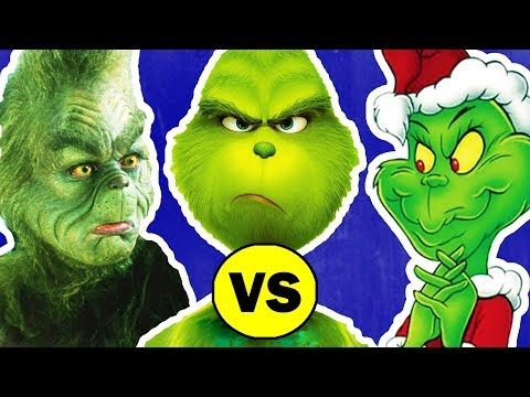 634 The Grinch Vs How The Grinch Stole Christmas Youtube Grinch Stole Christmas Grinch A Christmas Story