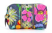 Vera Bradley Jazzy Blooms Medium Cosmetic Bag