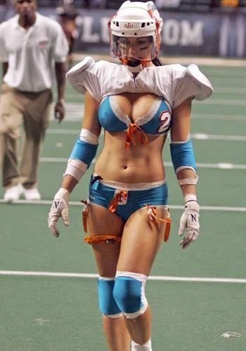 Bikini football video Amateur Facial