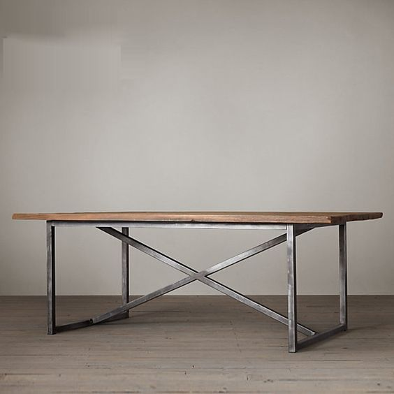 american village loft industrial style furniture made of solid wood dining table desk desk old american retro style industrial furniture desk