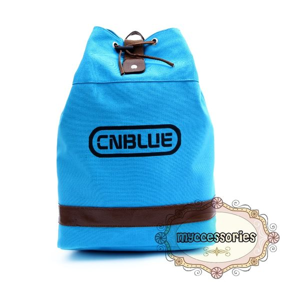 CNBLUE Canvas Backpack (JNS0010) Material : Canvas Height : ~45 cm Thickness :~14 cm Bottom :~30 cm