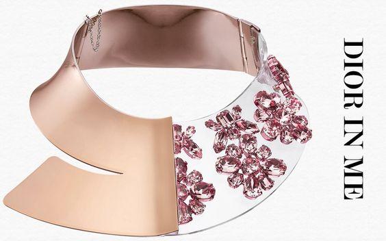Dior in me, nuevos collares baberos de Dior