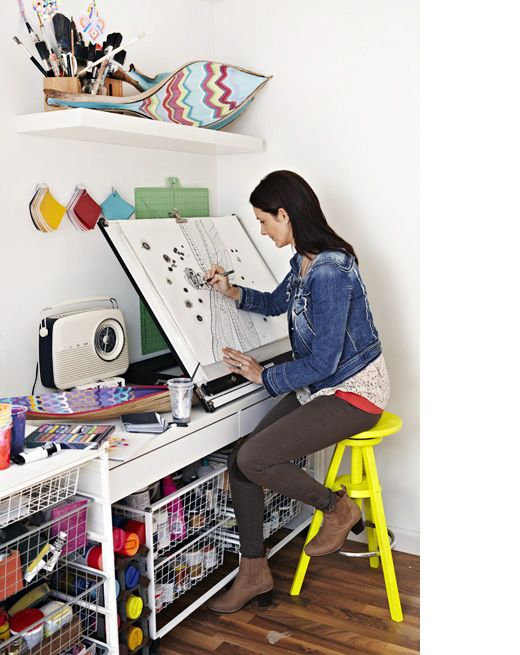 Antoinette Murray in her Hampton studio – styling by Julia Green, photograph by Armelle Habib