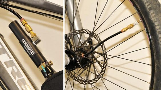 Forget bike pumps, someone finally invented an auto inflating tire!