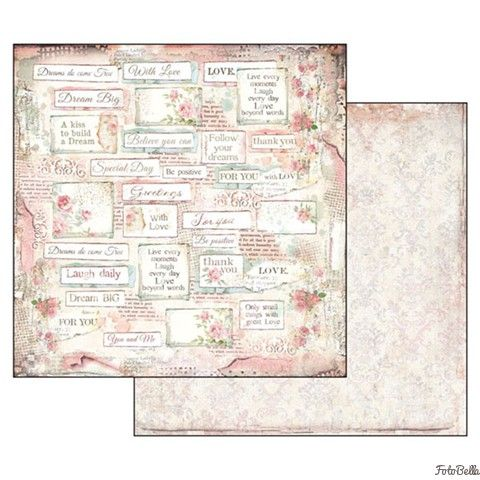 12x12 Paper Pad Dream 10 Double Sided Sheets By Stamperia For Scrapbooks Cards Crafting Paper Pads Scrapbook Kits Diy Scrapbook Printables