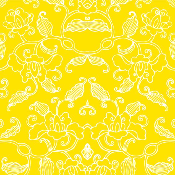 Bai amarelo - 15,4 x 15,4 - designer Carine Canavesi. Vendidos em caixa com 50 unidades, cobrem pouco mais de 1 metro2.