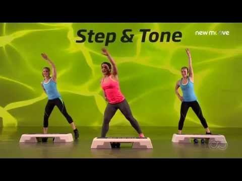 Online Fitness I Bodyshaping I Step And Tone Folge 2 Youtube