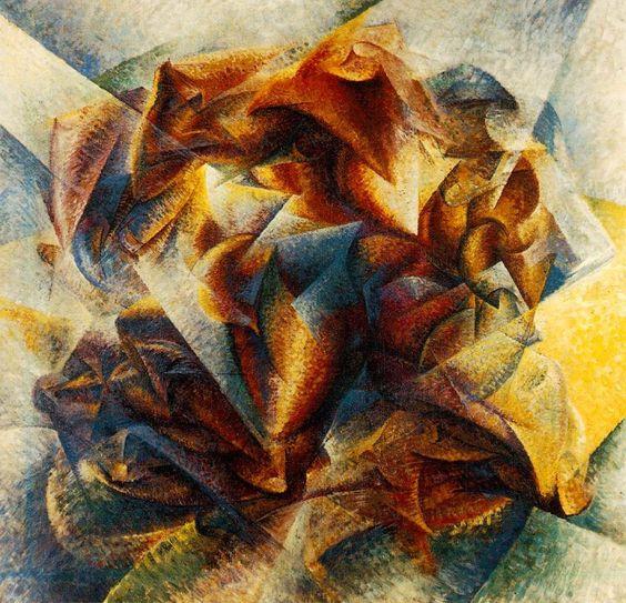 Umberto Boccioni, Dinamismo di un giocatore di pallone (1913)