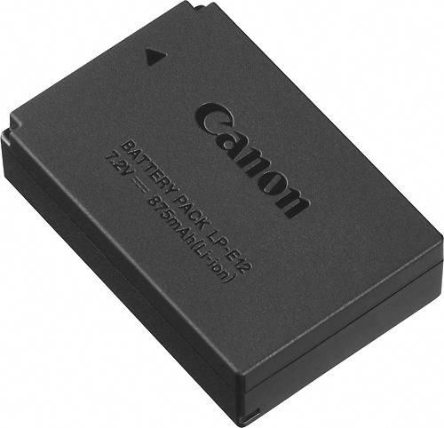 Canon Rechargeable Lithium Ion Battery Pack For Canon Lp E12 Black Canon Battery Battery Pack Lithium Ion Batteries