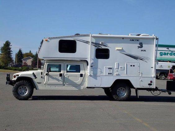 Hummer Artic Fox camper