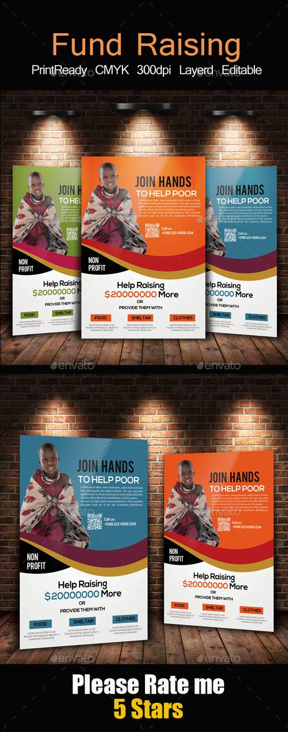 Charity Donation Flyer Templates – Donation Flyer Template