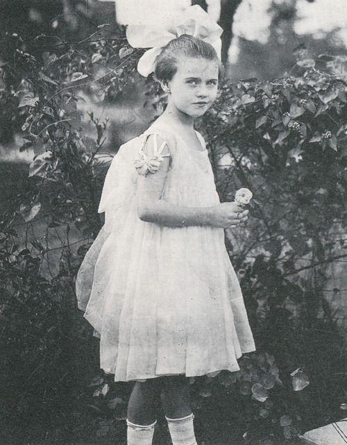 Ginger Rogers a los 10 años