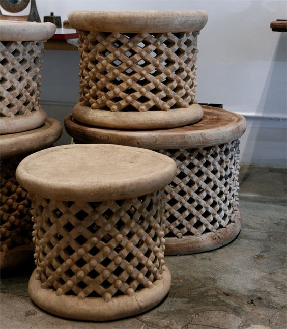 A Collection Of African Tables, C. 1950's | From a unique collection of antique and modern coffee and cocktail tables at http://www.1stdibs.com/furniture/tables/coffee-tables-cocktail-tables/