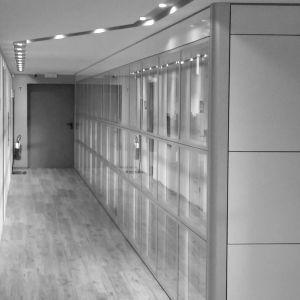 """Glazed Wall System in the Gym """"Vita, sport e benessere"""" - Arcadia Ufficio"""