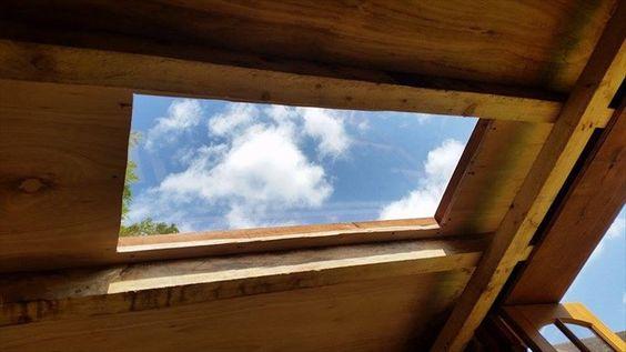 sun glass roofing DIY