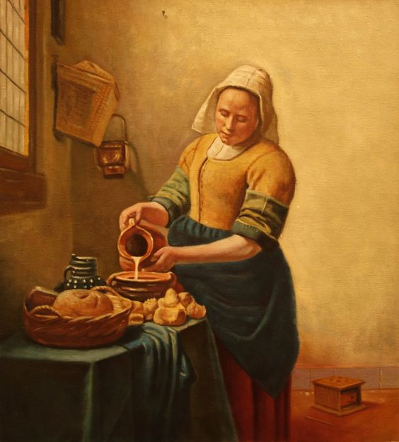 Milkmaid | Painthall – Quality artwork reproductions