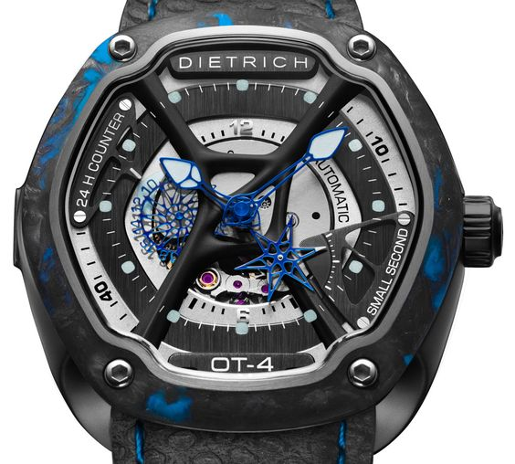 Dietrich O.Time Watches w/ Colorful Forged Carbon Bezels - on aBlogtoWatch.com…