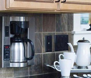 Cabinet Coffee Pot black decker space saver cabinet coffee maker to Fhgproperties.com