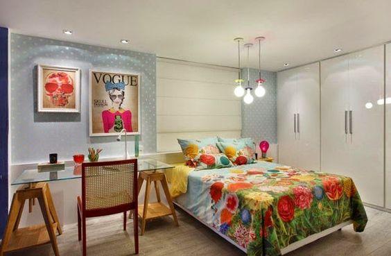 Apartamento decorado - Versão feminina e masculina