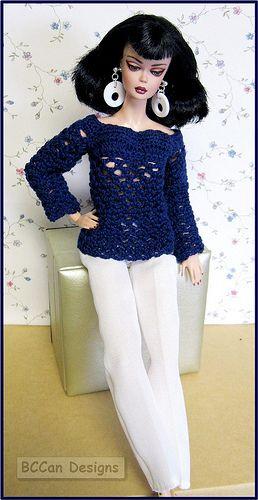 Silkstone repaint in sweater by Watbetty   Flickr - Photo Sharing!