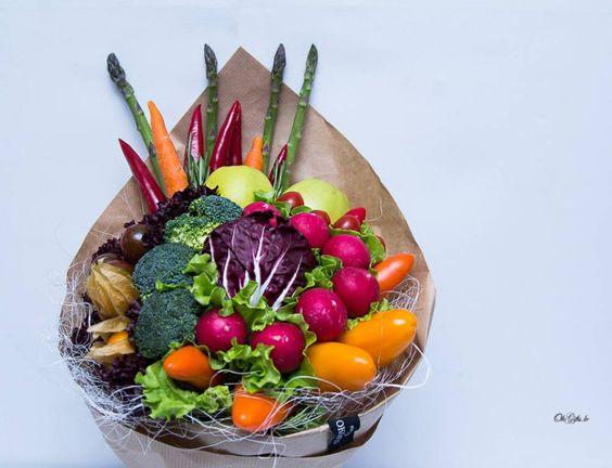 Букет из овощей: