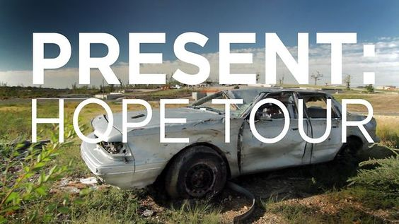 Present: Hope by Sulva Productions. Venture Expeditions partnered with Catalyst and Convoy of Hope for this two-week cycling tour from Joplin, MO to Atlanta, GA raising support and awareness for those affected by the tornados in Joplin and Tuscaloosa.