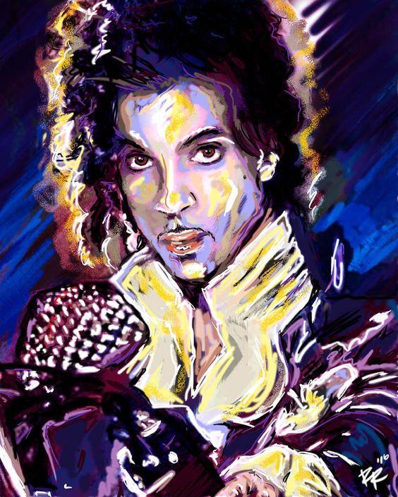 Prince Painting, Prince Art Print, Prince Original Print by RockChromatic on Etsy https://www.etsy.com/listing/290893939/prince-painting-prince-art-print-prince