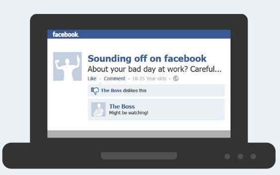 Interesante 1 de 4 adultos entre18 y 25 son amigos de sus jefes en Facebook. Tu, ¿eres amigo de tu jefe en #Facebook?
