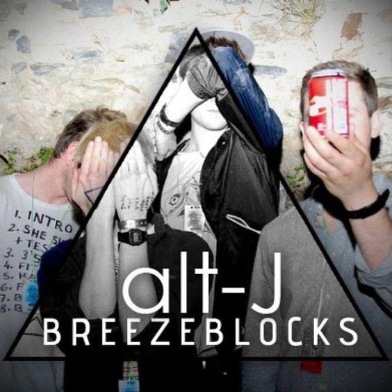 Alt-J – Breezeblocks (single cover art)