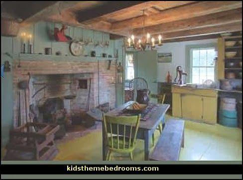 Decorating Theme Bedrooms Maries Manor Primitive Americana Decorating Style Folk Art Country Decor Rustic Primitive Decorating Country Country Style Decor