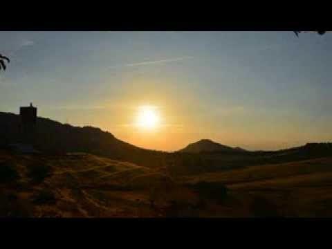 Almadén, puesta de Sol, dia 6 Septiembre. Time Lapse