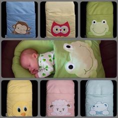 DIY Pillowcase Sleeping Bag for Baby Tutorial | Find fun fabrics for your next project www.myfabricdesigns.com