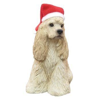 Cocker Spaniel Christmas Ornament - Buff