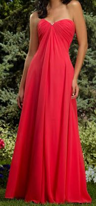 Intriguing Sweetheart Ruched Column Bridesmaid Dress (BD-048)