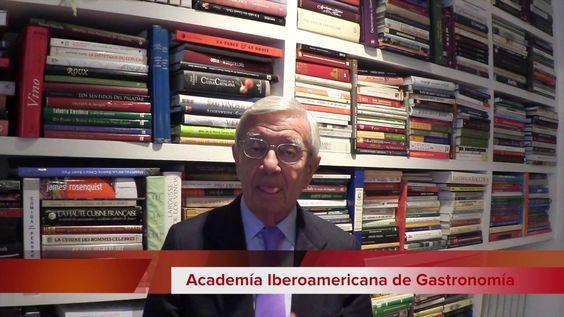 Rafael Ansón en Buenos Aires, Academia Iberoamericana de Gastronomía