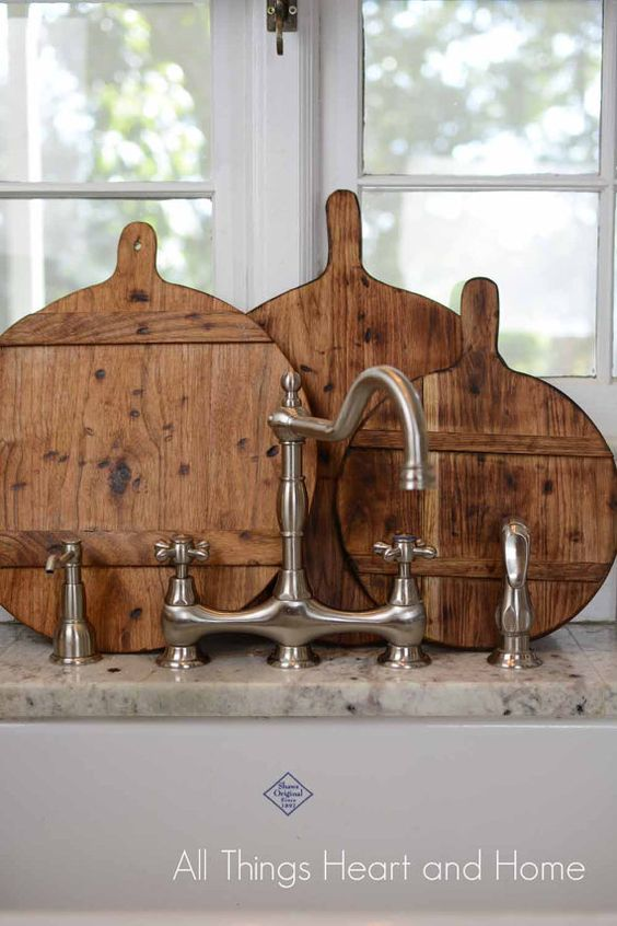 French Inspired Bread Board by RusticWoodInnovation on Etsy