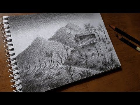 Cómo Dibujar Un Paisaje Sencillo A Lápiz Paso A Paso Youtube Curso De Dibujo Online Consejos De Dibujo Paisaje A Lapiz