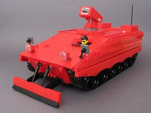 Feuerlöschpanzer Marder lego