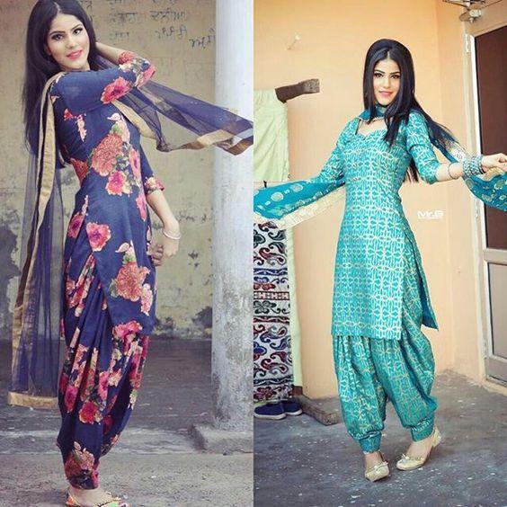 Summer Shalwar Kameez Designs blue outfit