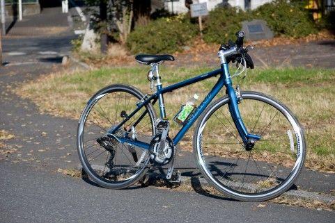 クロスバイクの写真