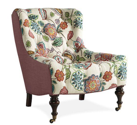 1744-01 CHAIR - Lee Industries.  Could be for the 3rd floor seating area or family room.  Look comfortable and can be upholstered in one fabric or two tone as shown.