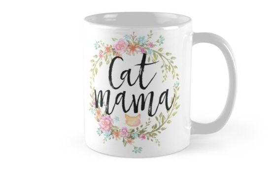 For proud cat mamas of all ages and sizes! • Also buy this artwork on home decor, apparel, stickers, and more.