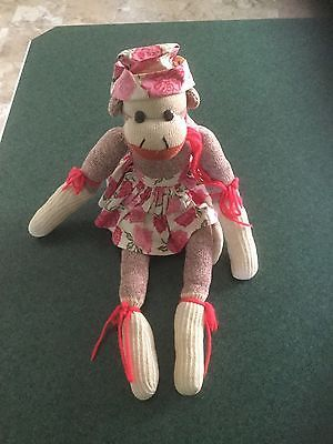 handmade-vintage-sock-monkey-from-the-early-1960s