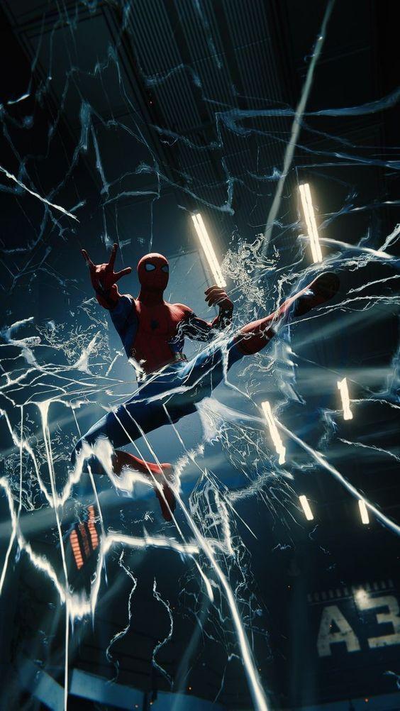 Spiderman Wallpaper 4k Spiderman Comic Marvel Superhero Posters Spiderman Black android spiderman wallpaper 4k