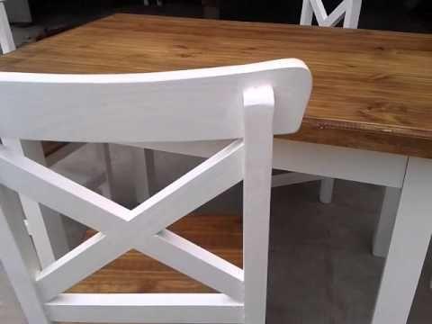 Como pintar muebles de pino estilo vintage buscar con - Bancos estilo vintage ...