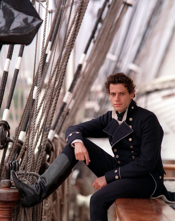 Ioan Gruffudd as Horatio Hornblower in the British historical miniseries by that name.: